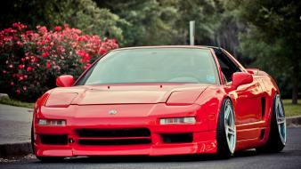 Jdm japanese domestic market cars red tuning wallpaper