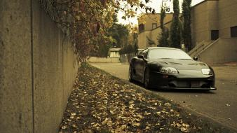 Jdm japanese domestic market toyota supra cars leaves wallpaper