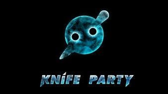 Knife party pendulum black background electric electro wallpaper