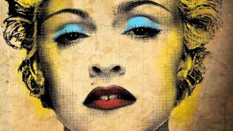 Madonna digital art pop singers Wallpaper