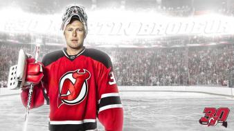 Martin brodeur nhl new jersey devils hockey wallpaper