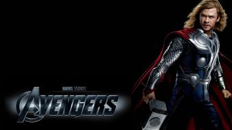 Mjolnir the avengers movie thor black background wallpaper