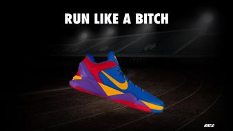 Nike funny running sneakers wallpaper