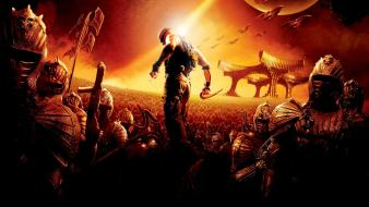 Of riddick vin diesel movies outer space wallpaper