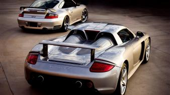 Porsche 911 996 gt2 carrera gt cars Wallpaper