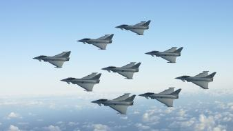Royal air force fighter jets typhoon wallpaper