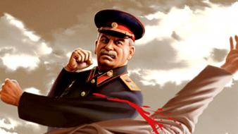 Russians ussr advertisement artwork stalin Wallpaper