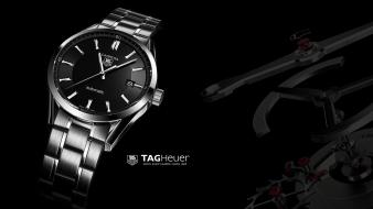 Tag heuer advertisement black background carrera watches Wallpaper