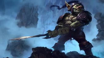 World of warcraft fantasy art goblins warriors wallpaper
