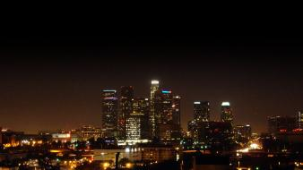 2009 los angeles cityscapes night wallpaper
