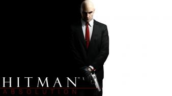 Agent 47 hitman absolution movies video games wallpaper