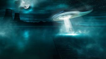 Aliens fantasy art Wallpaper