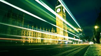 Big ben london cityscapes lights wallpaper