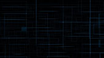 Blue dark lines wallpaper
