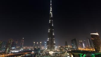 Burj khalifa dubai cityscapes skyscrapers tower wallpaper