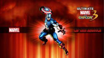 Capcom captain america marvel vs 3 comics wallpaper