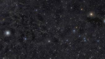 Comet outer space stars wallpaper
