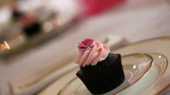Cupcakes desserts icing wallpaper