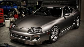 Domestic market toyota supra automobiles cars drag wallpaper