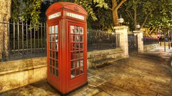 English telephone booth hdr photography london lonely phone wallpaper