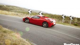 Ferrari 458 italia italian top gear red cars wallpaper