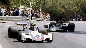 Formula one lotus ronnie peterson spanish grand wallpaper