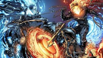 Ghost rider marvel comics artwork fantasy art wallpaper