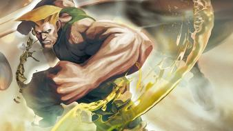 Guile street fighter games wallpaper