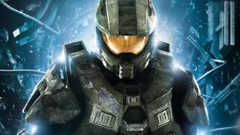 Halo 4 master chief soldiers Wallpaper