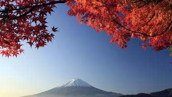 Japan mount fuji landscapes mountains nature wallpaper