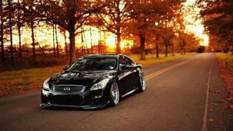 Jdm japanese domestic market autumn black cars wallpaper