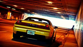Jdm japanese domestic market cars tunnels yellow wallpaper