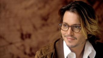 Johnny depp actors beard glasses men wallpaper