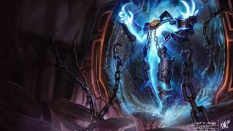 League of legends riot games xerath artwork paintings wallpaper