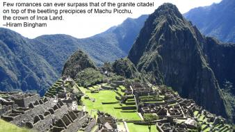 Machu picchu quotes Wallpaper