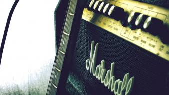 Marshall amplification amplifiers music wallpaper