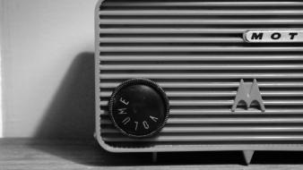 Motorola audio monochrome music radio wallpaper
