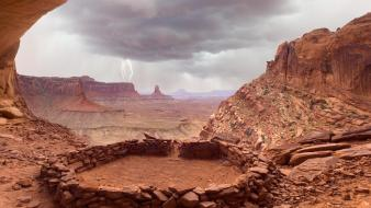 National park utah deserts landscapes rock formations wallpaper