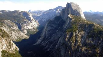 National park yosemite landscapes nature wallpaper