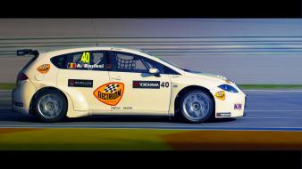 Seat leon cars racing wtcc wallpaper