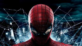 The amazing spiderman artwork cityscapes posters web wallpaper