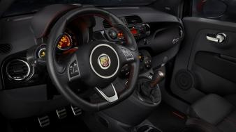Abarth fiat 500 dashboards wallpaper
