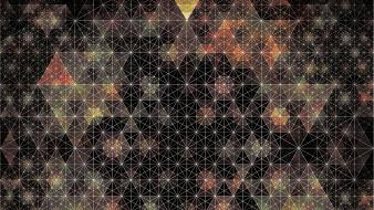 Andy gilmore abstract geometry psychedelic wallpaper
