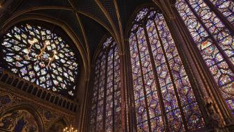 Art history france paris architecture chapel wallpaper