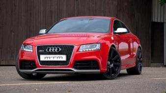 Audi rs5 cars red tuning wallpaper