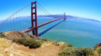 Bridge pacific ocean san francisco bridges nature wallpaper