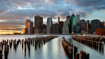 Brooklyn cities cityscapes city skyline skyscrapers wallpaper