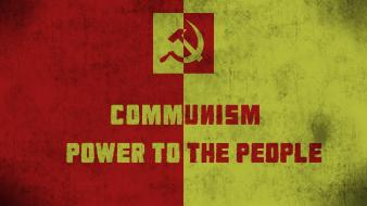 Communism you mean power to an unstoppable government Wallpaper
