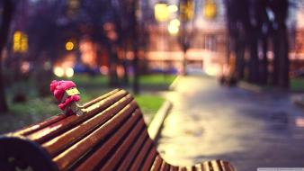 Danboard abstract amazon bench bokeh Wallpaper