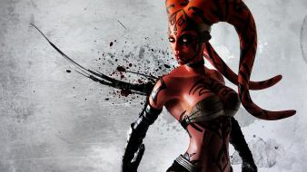 Darth talon sith star wars twi lek wallpaper